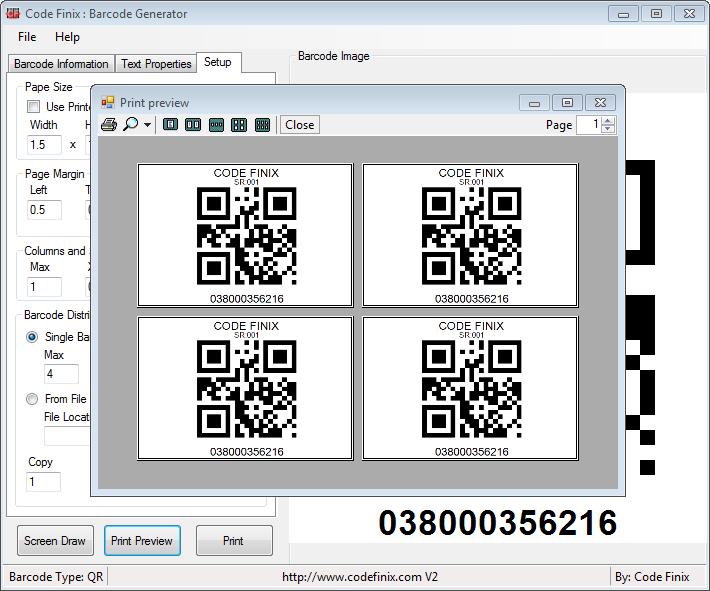 Code Finix - Barcode Generator